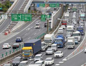 首都高渋滞計測方法
